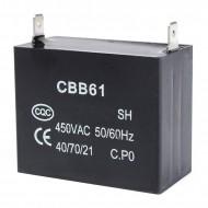 Конденсатор пусковой Китай CBB61-C 4,5мкФ