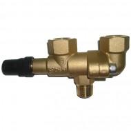 Переходной вентиль для клапана Castel 3032 / 33