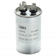 Конденсатор пусковой Китай CBB65 20+15мкФ