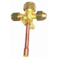 Вентиль (клапан) трехходовой для кондиционера Китай CH-604-08