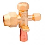 Вентиль (клапан) трехходовой для кондиционера Sanhua SSV-14002